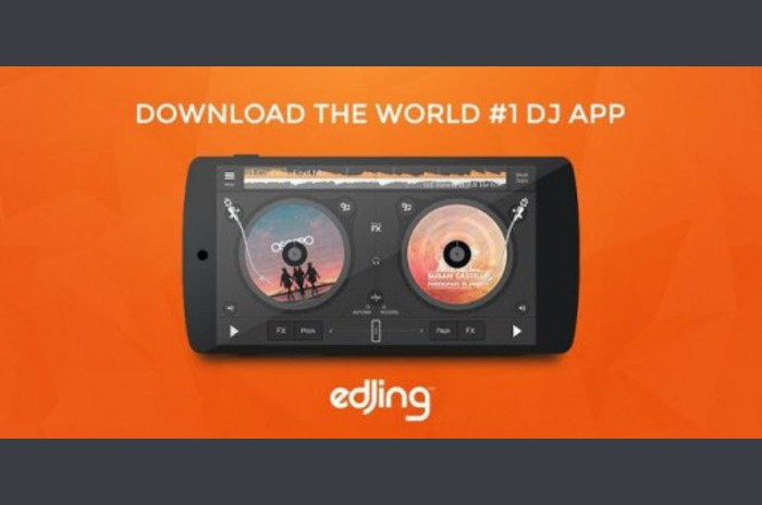 Edjing - table de mixage DJ