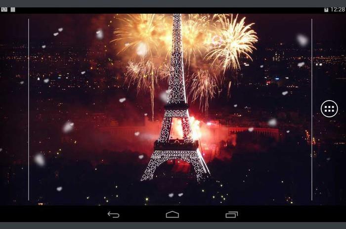 الألعاب النارية السنة الجديدة