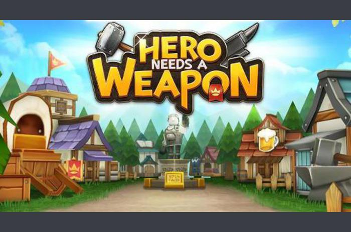 Held heeft een wapen