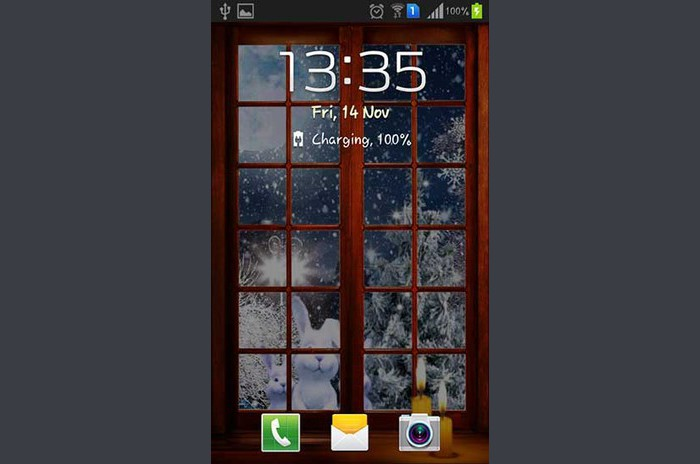 Nova Godina Winter Night Live Wallpaper