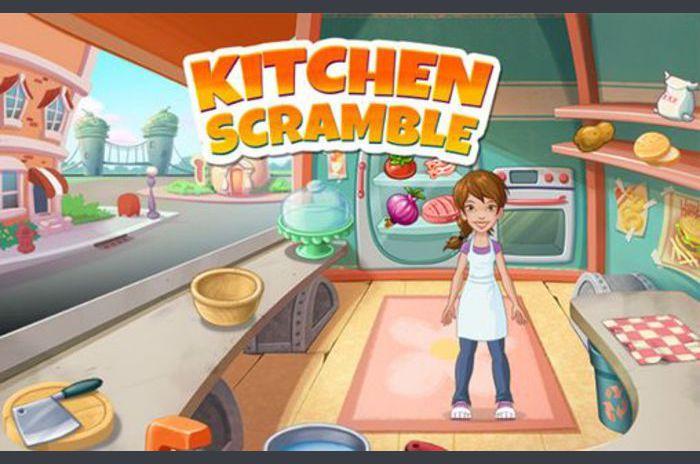 Bucătărie Scramble