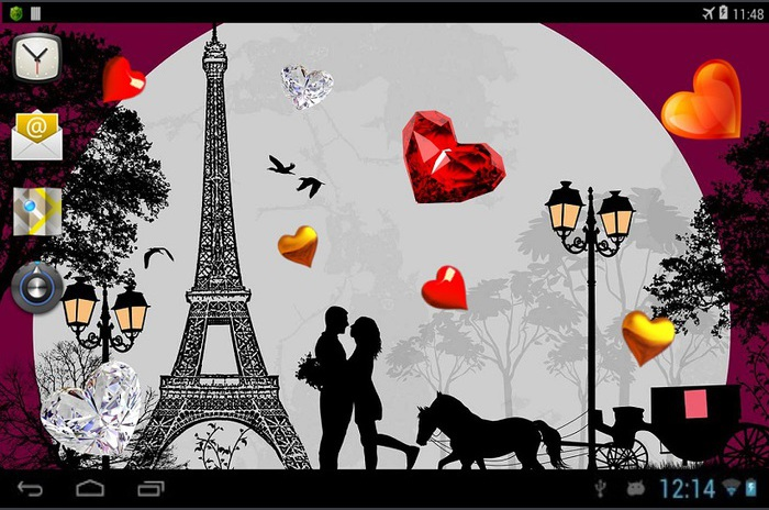 Valentine Paris tapet viu