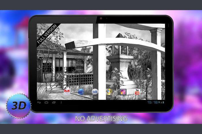 Ücretsiz 3D Live Wallpaper rüyalar