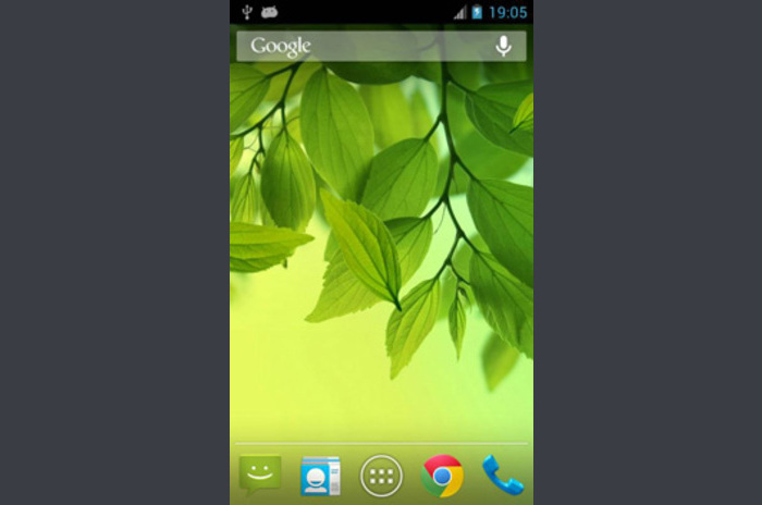 Galaxy S4 Leaf Live Wallpaper