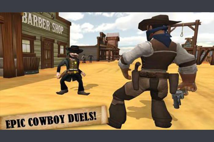 Western: Cowboy bende.  Bounty hunter