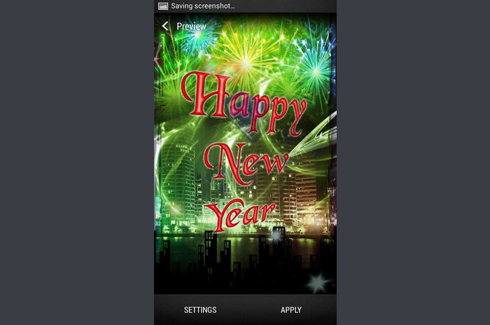 Live Wallpaper New Year
