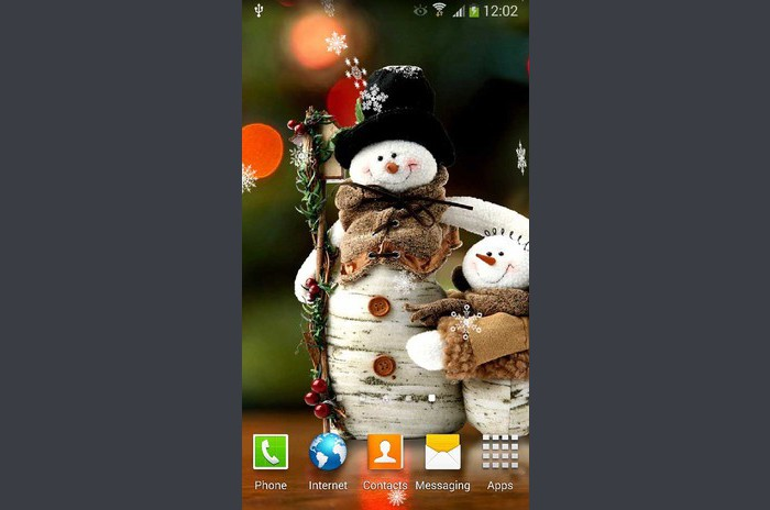 Sneeuwpop Live Wallpaper