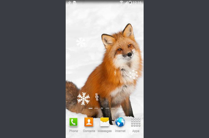 Lovely Winter Live Wallpaper