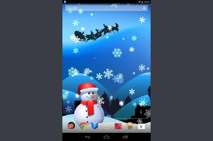La magie de Noël Live Wallpaper