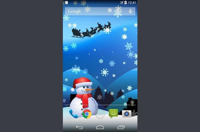 Magic Christmas Tapety na żywo