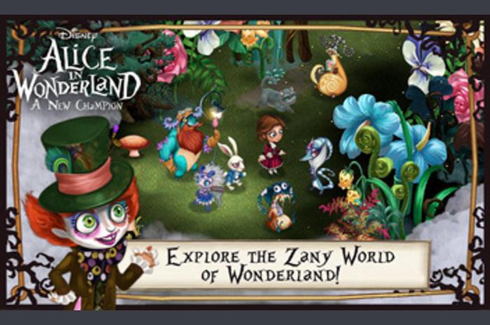 Disney Alice u zemlji čudesa
