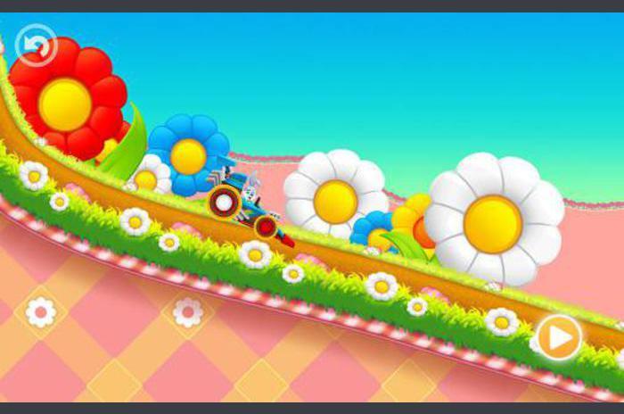 Lapin de Pâques: course enfant Fun