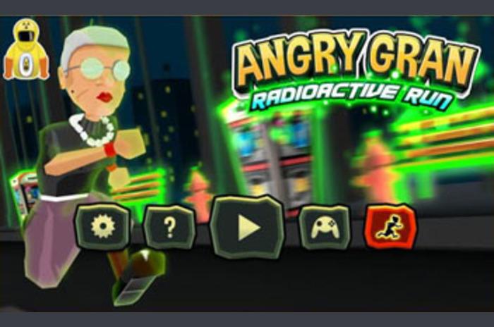 Angry Gran radioaktivnog Run