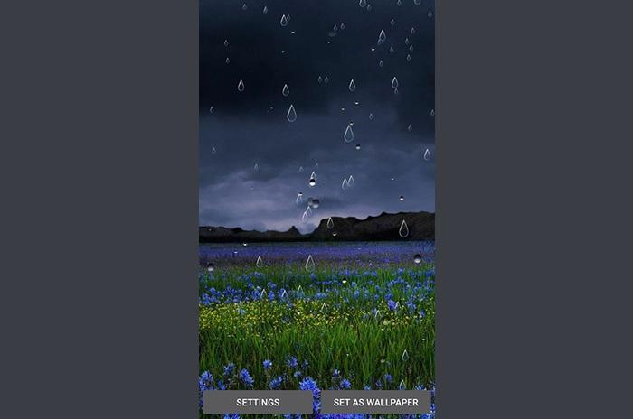 Locos uygulamaların Bahar yağmuru LWP