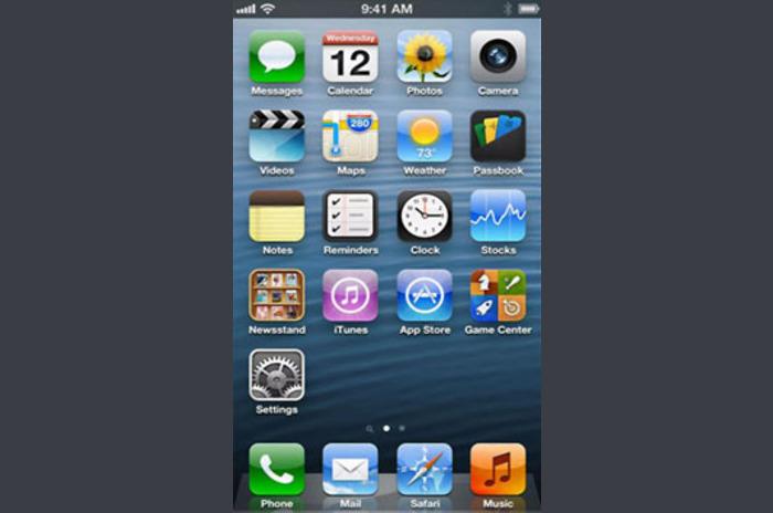 iPhone 5 Faux écran