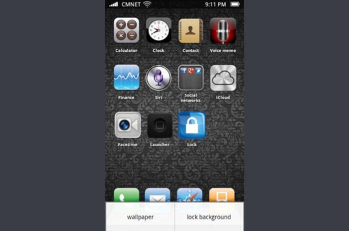 iPhone 5 Fake Screen