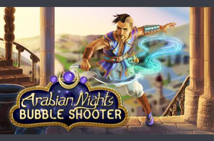 Arabian nights: Bubble shooter