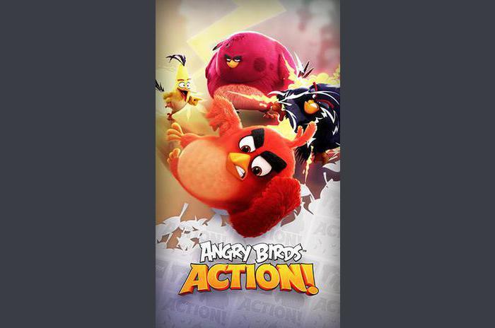 Angry Birds de acțiune!