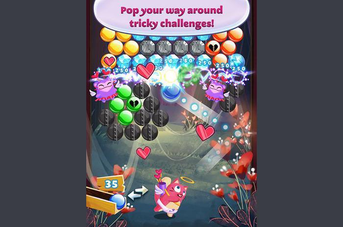 Bubble mania: Valentine's day
