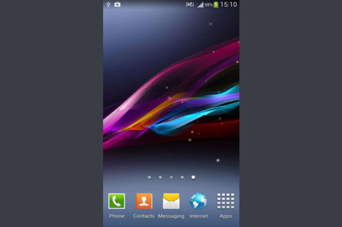 Xperia Z1 live wallpaper