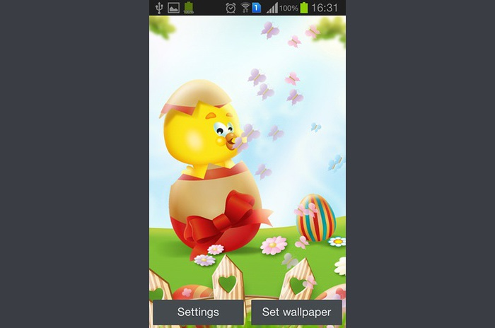 Easter LWP by My cute apps