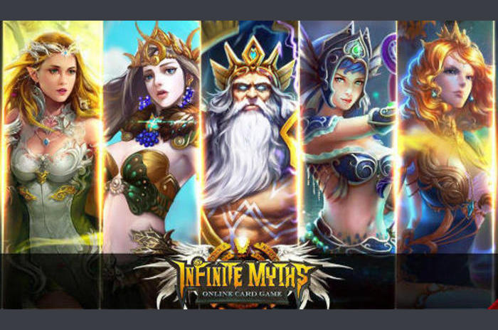 Infinite myths: Online card game