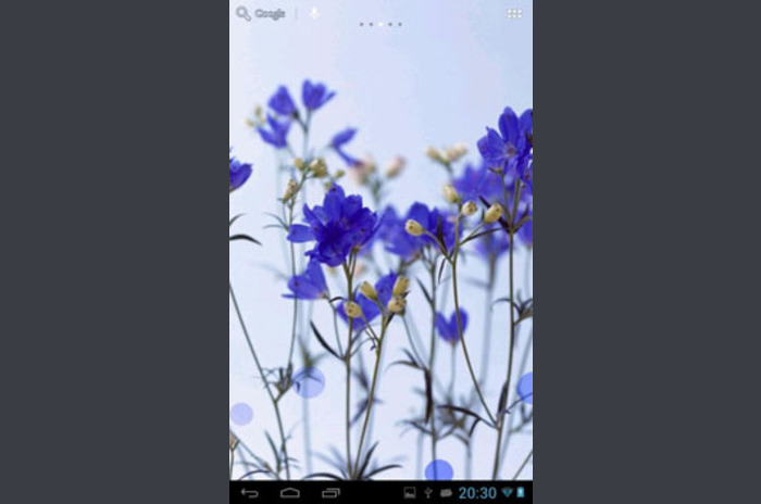 Galaxy Soft Style Wallpaper