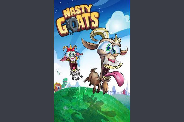 chèvres Nasty