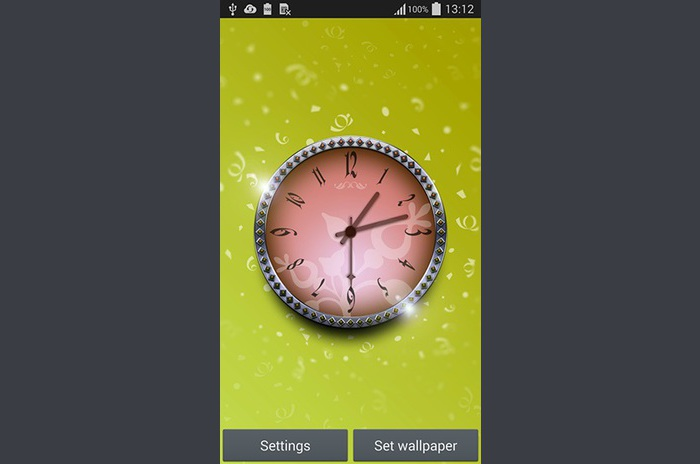 LWP reloj mágico