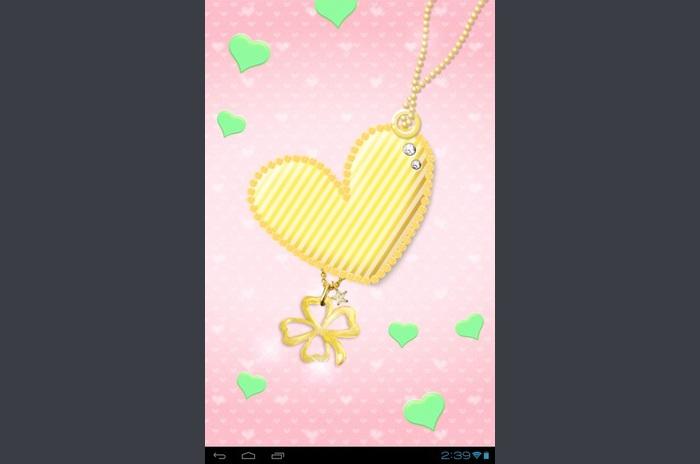 Rosa hjärta LW [FL ver.]