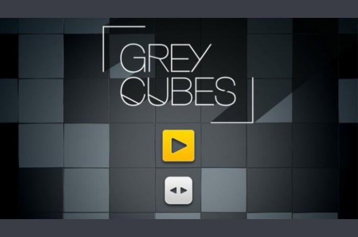 Cubos grises