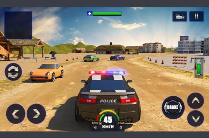 Policija potjera: Avantura sim 3D