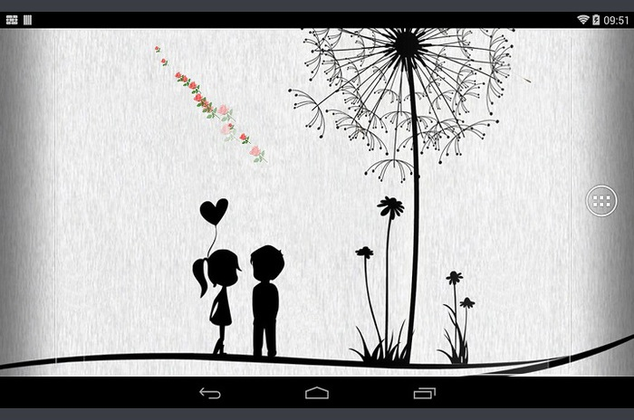 Simple Love Wallpaper
