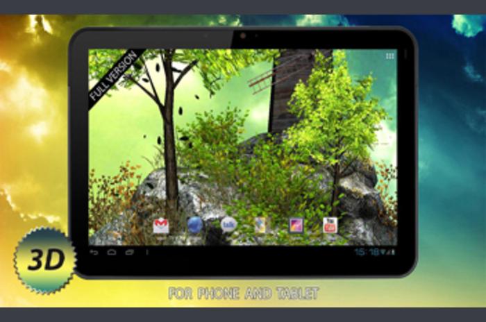FlyIsland 3D Live Wallpapers
