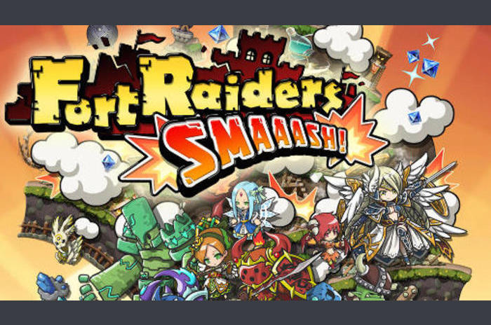 Fort raiders: Smaaash!