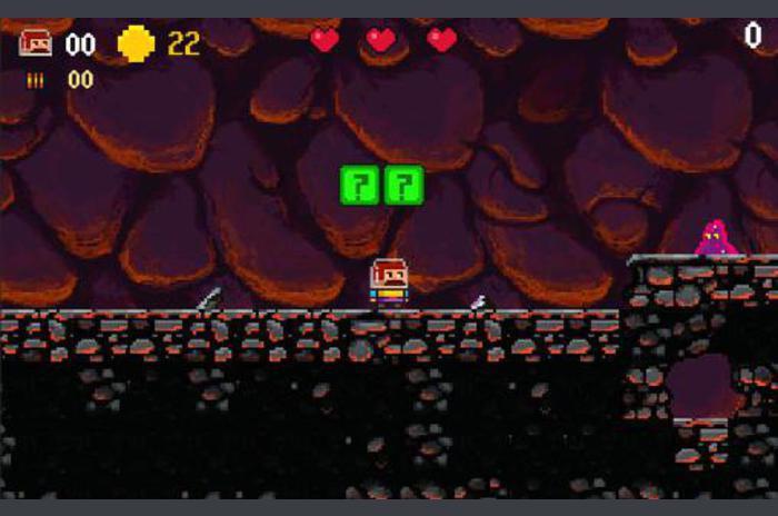 Super Bajusz platformer