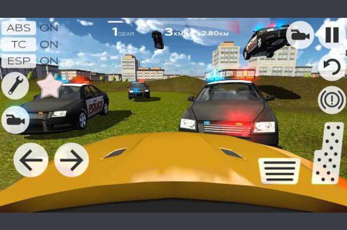 conducción de coches de carreras en 3D Extreme