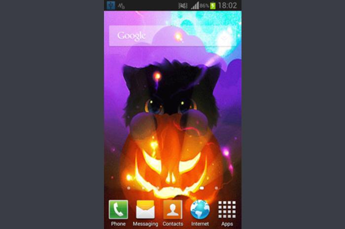 Halloween Kittens Live Wallpaper