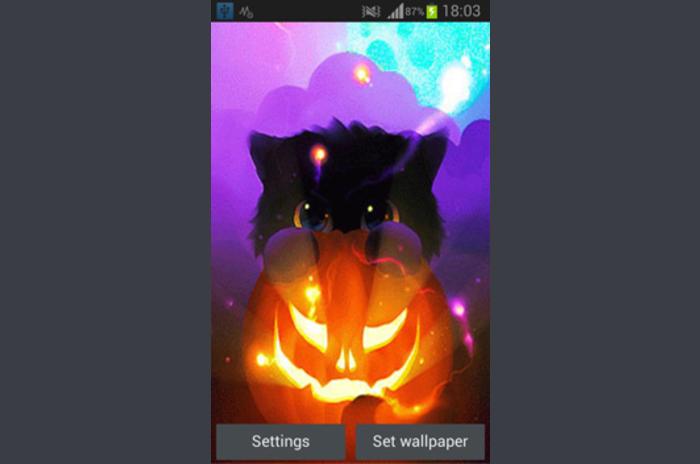 Pui de Halloween Wallpaper Live