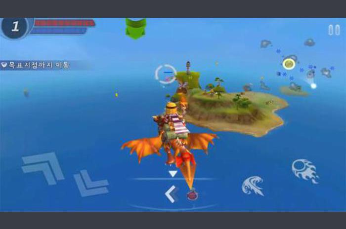 Sky assault: 3D flight action