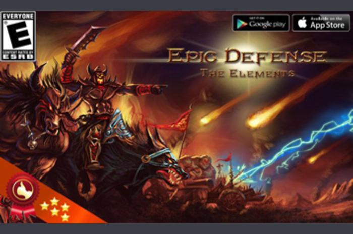 Epic Defense - az elemek