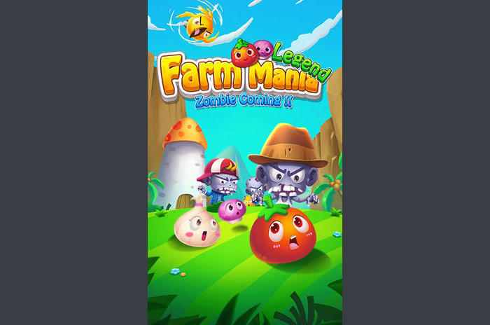 Farm mania: Legend.  Zombie coming !!