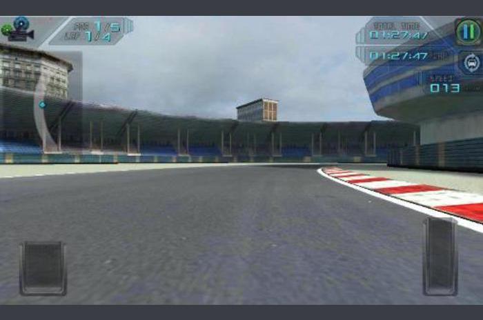 Hög hastighet 3D-racing