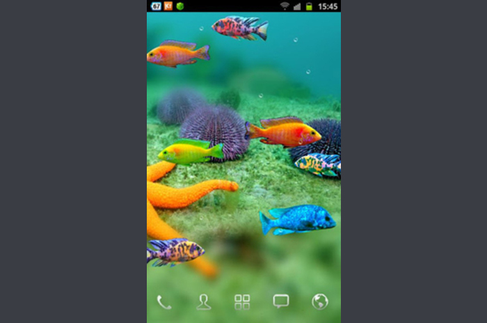 Fish Tank Android Wallpaper