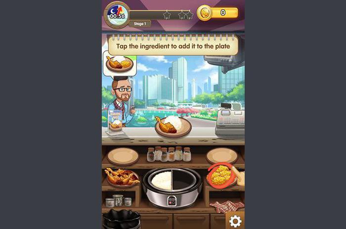 Łańcuch Warung: Idź żywności wyrazić!
