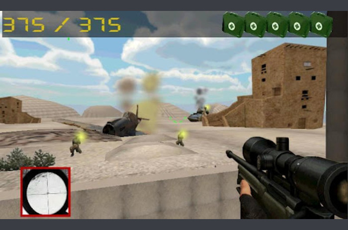 Counter desert strike