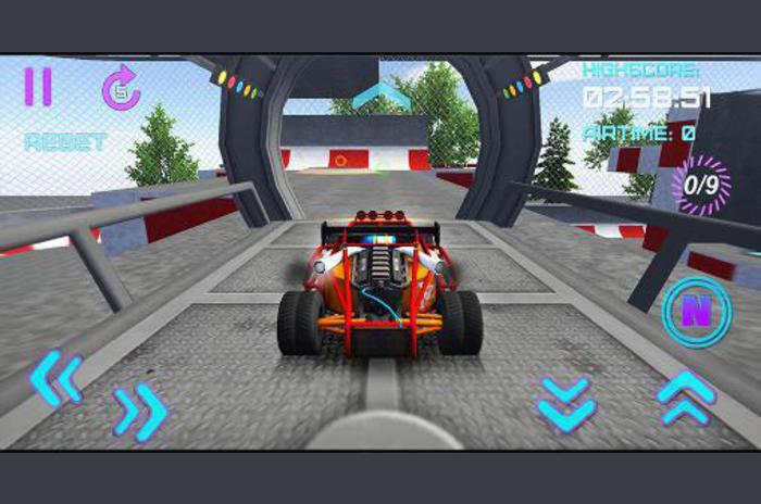 3D stunt extrema: corredor de Fórmula