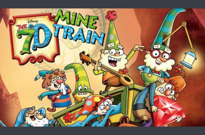 A 7D: Mine vonattal