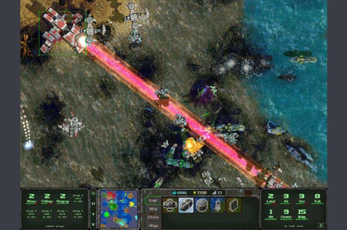 Guerre terrestre de la mer de l'air