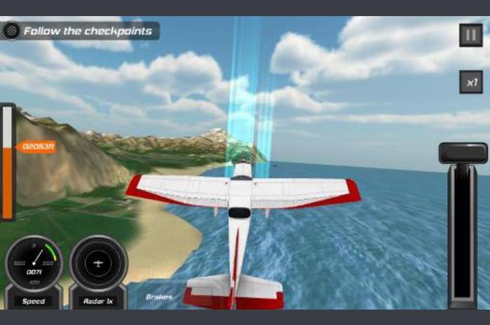 นักบินเที่ยวบิน: จำลอง 3D